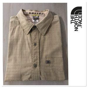 The North Face button down short sleeve shirt